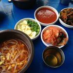 동대문의 돼지갈비 식당 경상도집