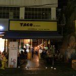 가로수길의 타코 전문점 방문기